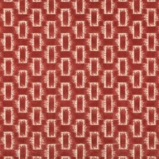 Rose Geometric Drapery and Upholstery Fabric by Brunschwig & Fils