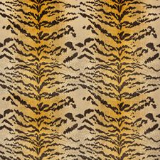 Cognac Animal Skins Drapery and Upholstery Fabric by Brunschwig & Fils