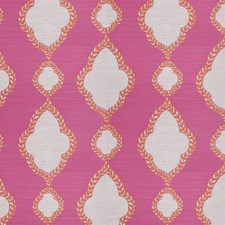 Fuchsia Diamond Drapery and Upholstery Fabric by Stroheim