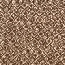 Chocolate Diamond Drapery and Upholstery Fabric by S. Harris