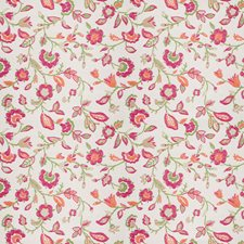 Fuchsia Floral Drapery and Upholstery Fabric by Stroheim