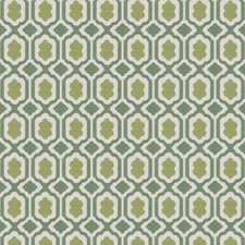 Emerald Small Scale Woven Drapery and Upholstery Fabric by Stroheim