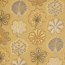Amber Jacquard Pattern Drapery and Upholstery Fabric by S. Harris