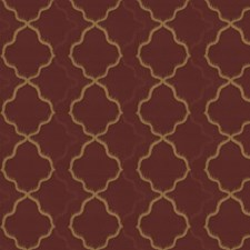 Chili Powder Jacquard Pattern Drapery and Upholstery Fabric by S. Harris