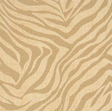Warm Sand Animal Drapery and Upholstery Fabric by S. Harris