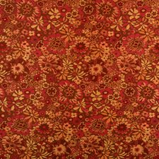 Paradise Pink Floral Drapery and Upholstery Fabric by S. Harris