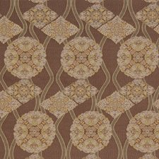 Rum Raisin Global Drapery and Upholstery Fabric by S. Harris