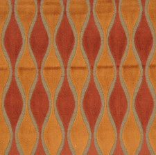 Spice Jacquard Pattern Drapery and Upholstery Fabric by S. Harris