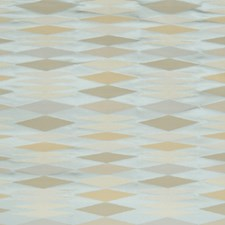 Whisper Blue Geometric Drapery and Upholstery Fabric by S. Harris
