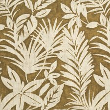 Seaweed Jacquard Pattern Drapery and Upholstery Fabric by S. Harris