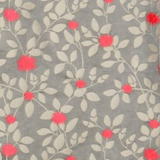 Shocking Floral Drapery and Upholstery Fabric by S. Harris