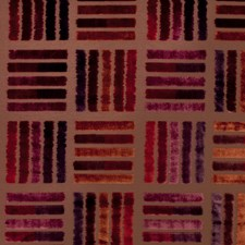 Pomegranate Stripes Drapery and Upholstery Fabric by S. Harris