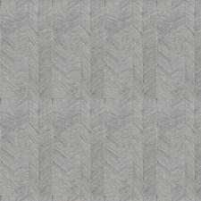Slate Herringbone Drapery and Upholstery Fabric by Stroheim