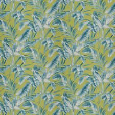 Lagoon Floral Drapery and Upholstery Fabric by Vervain