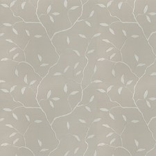 Silver Embroidery Drapery and Upholstery Fabric by Trend