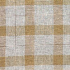 Amber Plaid Drapery and Upholstery Fabric by Kravet