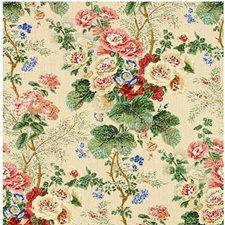 Pop/S/Cr Botanical Drapery and Upholstery Fabric by Lee Jofa