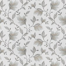 Dove Embroidery Drapery and Upholstery Fabric by Trend