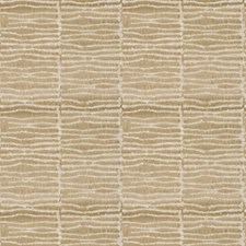 Camel Geometric Drapery and Upholstery Fabric by Vervain
