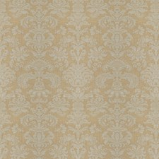 Gold Dust Damask Drapery and Upholstery Fabric by Fabricut