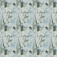 Blue Smoke Geometric Drapery and Upholstery Fabric by S. Harris