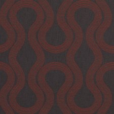 Black Cherry Abstract Drapery and Upholstery Fabric by Duralee