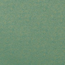 Aqua/Green Scroll Drapery and Upholstery Fabric by Duralee
