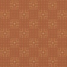 Flame Geometric Drapery and Upholstery Fabric by Duralee