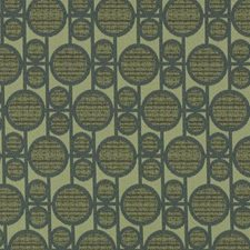 Emerald Abstract Drapery and Upholstery Fabric by Duralee