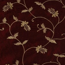 Burgundy/Red/Yellow Lattice Drapery and Upholstery Fabric by Kravet
