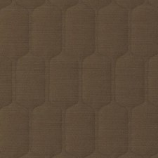 Toast Geometric Drapery and Upholstery Fabric by Duralee