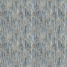 Sapphire Flamestitch Drapery and Upholstery Fabric by Vervain