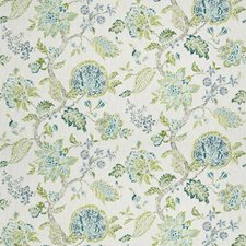 Oasis Floral Drapery and Upholstery Fabric by Fabricut