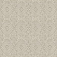 Pearl Grey Embroidery Drapery and Upholstery Fabric by Fabricut