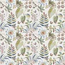 Exotic Multi Floral Drapery and Upholstery Fabric by Fabricut
