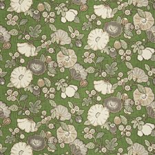 Grass Floral Drapery and Upholstery Fabric by Fabricut