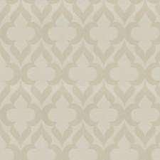 Ivory Lattice Drapery and Upholstery Fabric by Trend