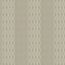 Flax Embroidery Drapery and Upholstery Fabric by Stroheim