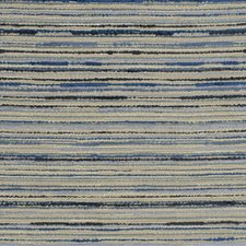 Cobalt Stripes Drapery and Upholstery Fabric by Fabricut