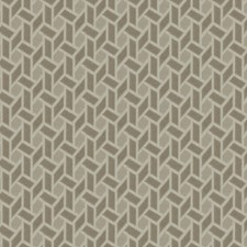 Biscotti Geometric Drapery and Upholstery Fabric by Trend
