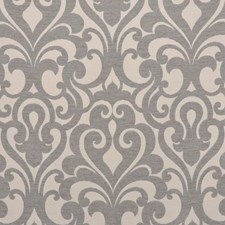 Grey Drapery and Upholstery Fabric by RM Coco