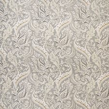 Pewter Asian Drapery and Upholstery Fabric by Greenhouse