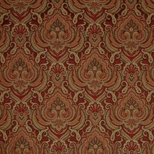 Rust Tapestry Drapery and Upholstery Fabric by Greenhouse