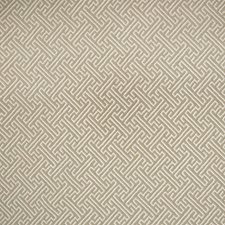 Flax Geometric Drapery and Upholstery Fabric by Greenhouse