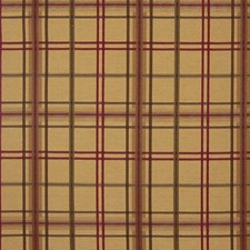 Foliage Plaid Check Drapery and Upholstery Fabric by Greenhouse