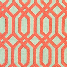 Coral Drapery and Upholstery Fabric by Scalamandre