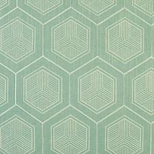Tiffany Blue Drapery and Upholstery Fabric by Scalamandre