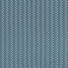 Cyanotype Blue Drapery and Upholstery Fabric by Scalamandre