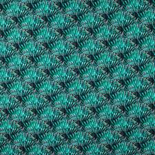 Peacock Blue Drapery and Upholstery Fabric by Scalamandre