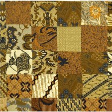 Beige/Yellow/Rust Novelty Drapery and Upholstery Fabric by Kravet